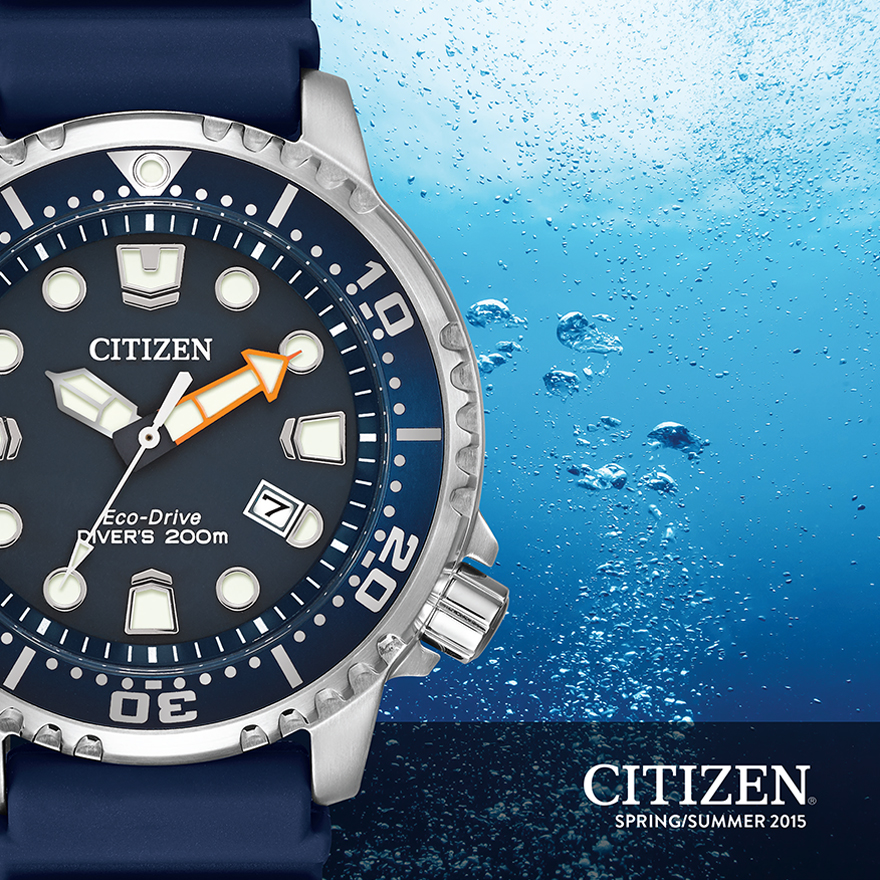 Citizen Watch Spring 2015 Look Book cover page